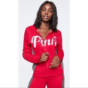 PINK Victoria's Secret Perfect Full-Zip Hoodie